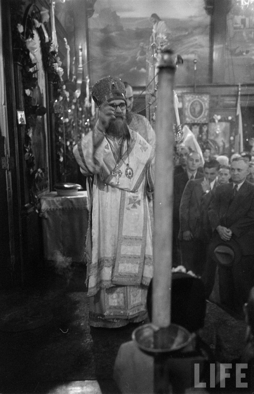 Old Photos: Russian Orthodox Easter